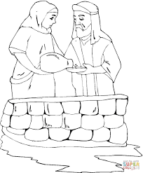 abraham and sarah coloring page free printable coloring pages