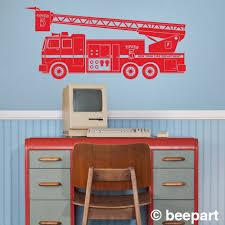 fire truck wall decal fire truck sticker art boys wall decal fire truck wall decal fire truck sticker art boys wall decal fdny fire department vinyl wall decal free shipping