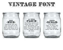 labels for kitchen canisters flour and sugar containers basics definition flour sugar oats rice