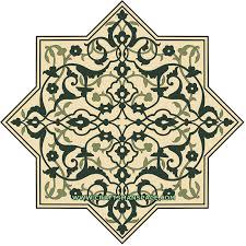 afghan ornamental pattern