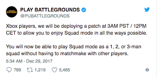 pubg 3 man squad xbox xbox one s playerunknown s battlegrounds introduces squads