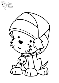 puppy coloring pages printable