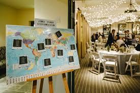 Travel Themed Wedding English Cotswolds Wedding Ruffled