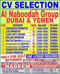 Dump Truck Driver Job Description Resume by Urgently Requirement For A Leading Company Saudi Arabia For Their