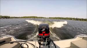 2005 mercury 25 hp 2 stroke outboard motor youtube
