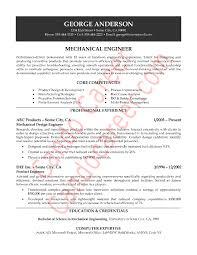 Canadian Resume Sample by Download Experienced Mechanical Engineer Sample Resume