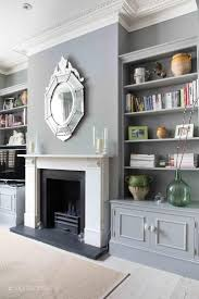 living room victorian fireplace combination by modern velvet