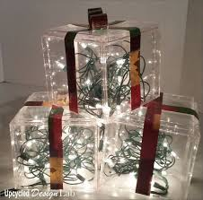 Decorative Christmas Boxes Light Up by Quick And Easy Upcycled Christmas Decoration Light Boxes Hometalk