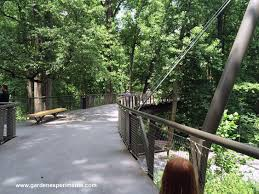 Atlanta Botanical Gardens by Kendeda Canopy Walk Atlanta Botanical Garden