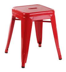 Tolix Armchair Replica Tolix Stool 46cm Red Set Of 4 199