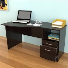 Curved Office Desk by Inval Curved Top Desk In Espresso Es 2203