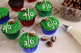 football cupcakes foodista chionship football cupcakes