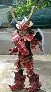 Samurai Halloween Costume Homemade Samurai Costume