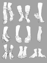feet and boots references by nimenicanine on deviantart
