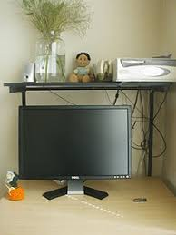Computer On A Desk Computer Desk