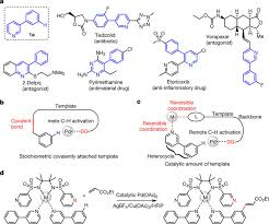 remote site selective c u2013h activation directed by a catalytic