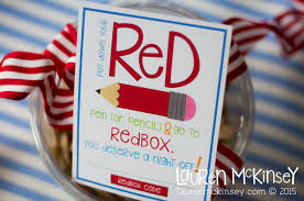 teachers love a night off give the gift of a redbox movie