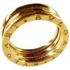 bvlgari vintage rings images Vintage bulgari b zero1 18k yellow gold band ring chelsea estate jpg