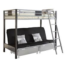 Black Futon Bunk Bed Twin Over Futon Bunk Bed Metal What Is The Best Interior Paint