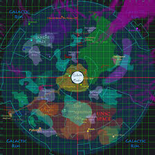Galaxy Map Fictionpocalypse Galactic Map Post Cataclysm Wip By Eruisar On