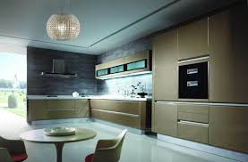 china kitchen furniture high gloss lacquer golden color for