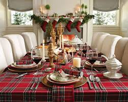 dining table christmas decorations dining room festive christmas dinner table decorating ideas to