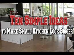 kitchen make ideas ten simple ideas to make small kitchen look bigger