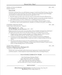 resume exles for 2 18 best non profit resume sles images on free