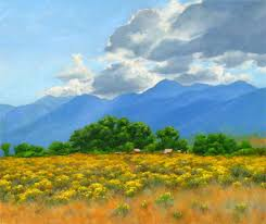 Nevada landscapes images Carson valley at the base of the sierra nevada mountains oil jpg