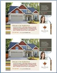 free real estate flyer templates real estate flyer template word template design