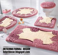 Pink Bathroom Rug by Latest Models Of Bathroom Rugs And Rug Sets International