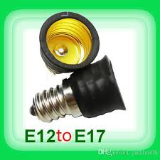 small light bulb socket adapter 2018 ree shipping small screwe12 turn e17 l socket adapter from
