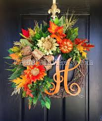 Grapevine Floral Design Home Decor The 349 Best Wreaths And Wall Decor Images On Pinterest Autumn
