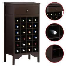 Wood Wine Cabinet Wine Cabinet Ebay