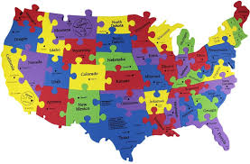 Map Of Usa Capitals by Maps Of The United States United States Map Nations Online