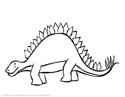 stegosaurus coloring pages getcoloringpages