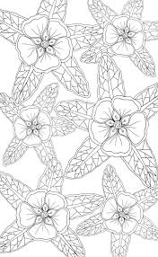 413 best coloring pages to print flowers images on pinterest