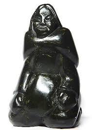 Inuit Soapstone Sculpture Inuit Eskimo Collection On Ebay