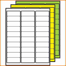 Avery 5160 Template Excel Blank Avery 5160 Template Thegreyhound
