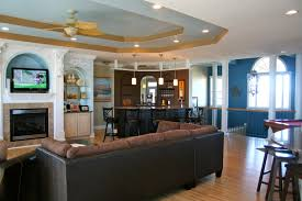 family room bars small home decoration ideas gallery with family