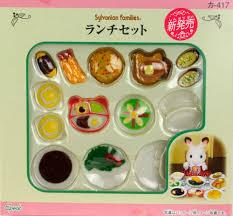 sylvanian families cuisine amiami character hobby shop ka 417 sylvanian families lunch