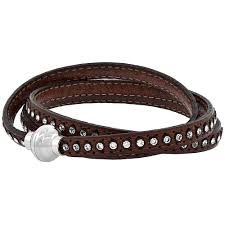 crystal leather wrap bracelet images Leather bracelets jpg