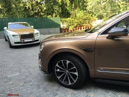 bentley bentayga 2016 bentley bentayga india launch scheduled for april 22 2016 page