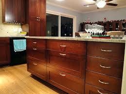 3 drawer kitchen cabinet knotty alder kitchen cabinets in natural finish kitchen craft two