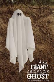make it fun crafts giant hanging ghost a and a glue gun