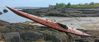 ootek west greenland style wood strip sea kayak designed by rob