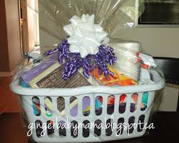bridal shower gift basket ideas gingerbabymama practical bridal shower gift