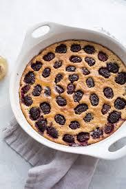 blackberry honey clafoutis gluten free u2013 salted plains