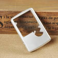 pocket magnifier with light pocket magnifier card size reading magnifying glass accessorygeeks