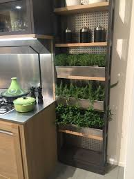Wall Mounted Herb Garden by Clever Design Features That Maximize Your Kitchen Storage